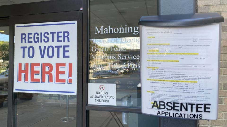 Mahoning County Board of Elections, voting applications