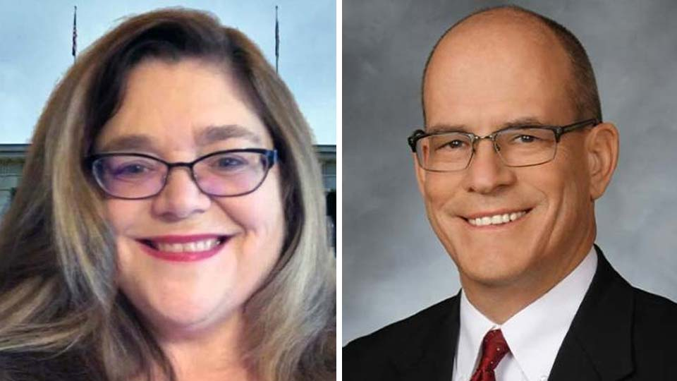 Martha Yoder and Michael O'Brien, running for Ohio representative of the 64th district.