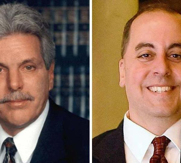 Paul Gains and Marty Desmond, running for Mahoning County prosecutor