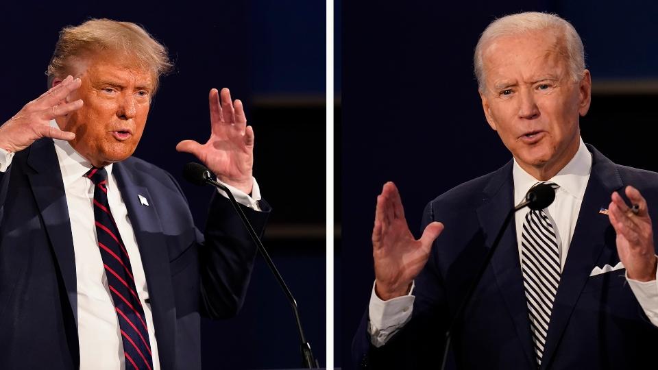 President Donald Trump, Joe Biden
