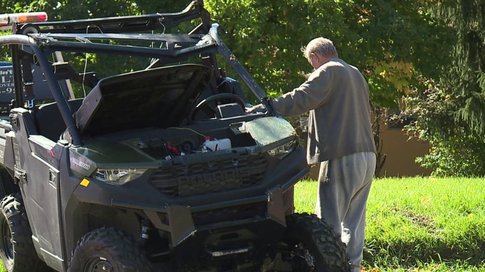 Ranger UTV rollover crash, police chase, Youngstown
