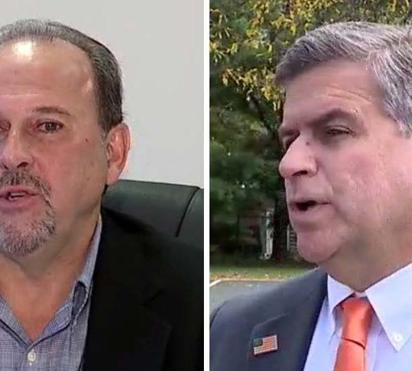 Steve Kristan and David Ditzler, running for Mahoning County commissioner.
