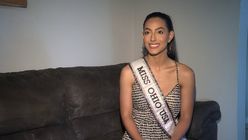Sthephanie Miranda of Campbell, Miss Ohio USA