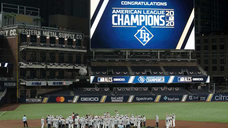 Tampa Bay Rays American League Champions