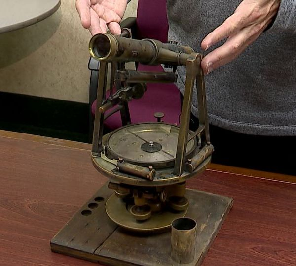 A large piece of Mahoning County history has been sitting in a basement for more than 50-years. Soon, it could be in a case on display in the Mahoning County Engineer's Office.