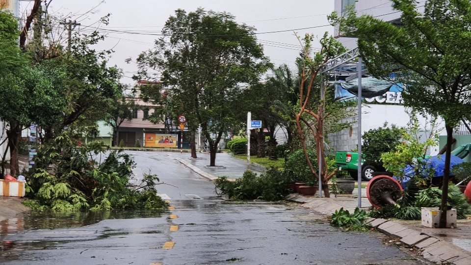 Typhoon in Vietnam