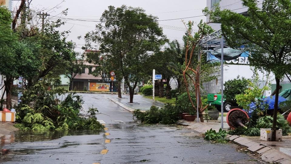 Typhoon in Vietnam