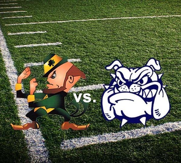 Ursuline Irish vs Poland Bulldogs High School Football
