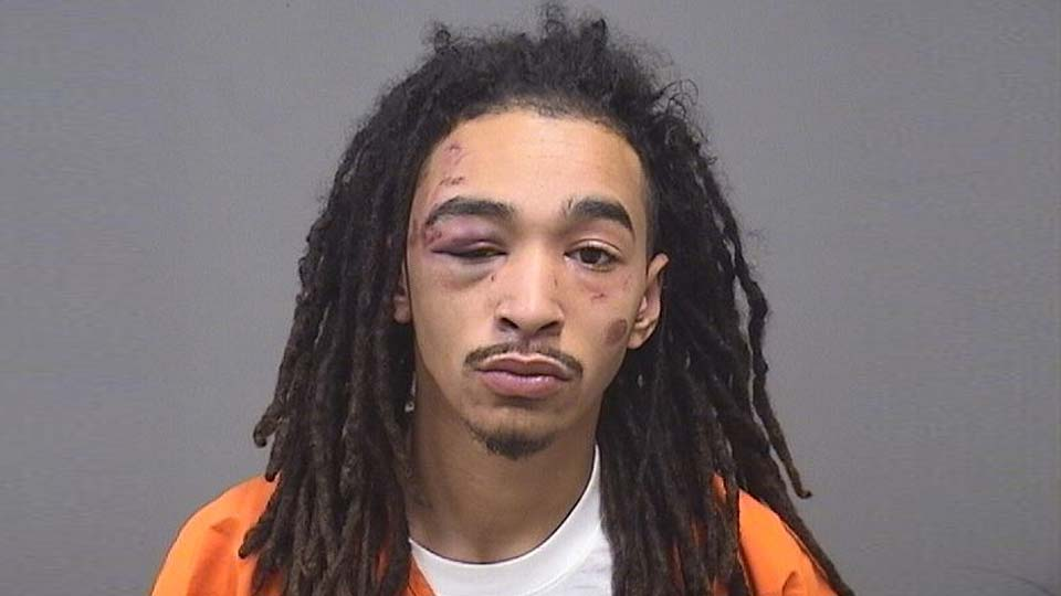 Xavier Williams, charged with assault on a police officer in Austintown.