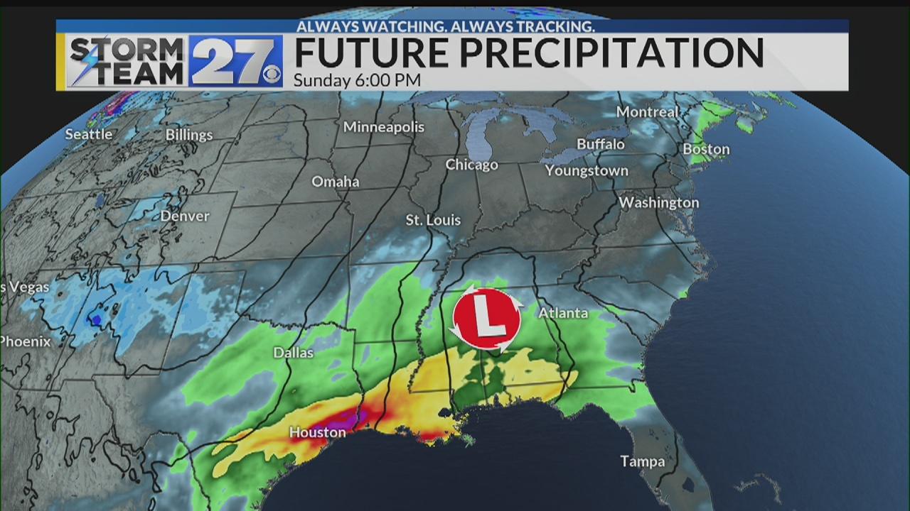 Quiet weather into the weekend - Update on next week's storm