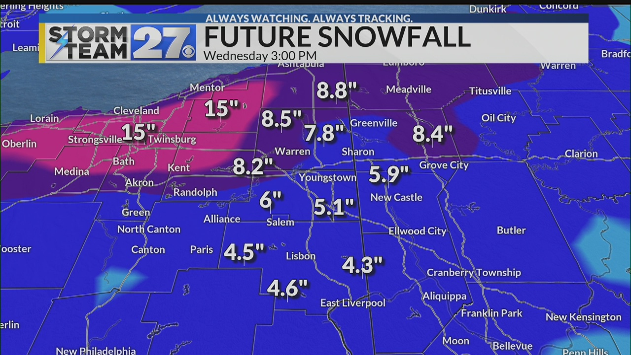 WATCH: Winter storm update - How much snow to expect