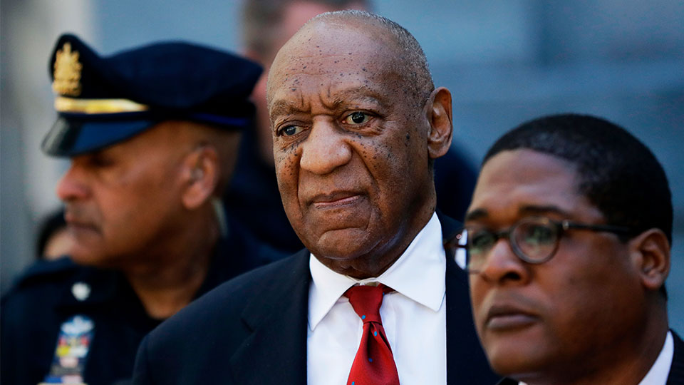 Bill Cosby leaves Montgomery County Courthouse