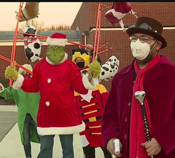 Canfield teachers Macy's Thanksgiving Day Parade theme