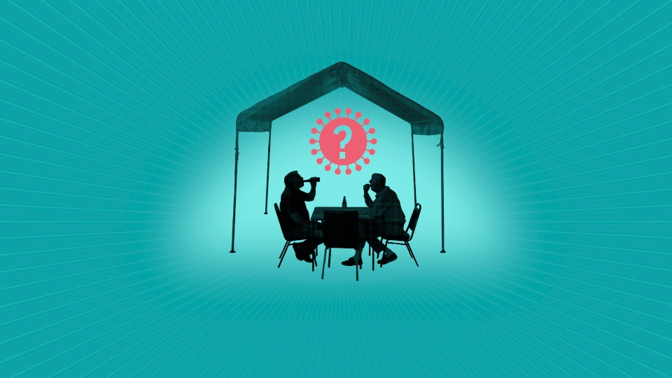 re dining tents a safe way to eat out during the pandemic?