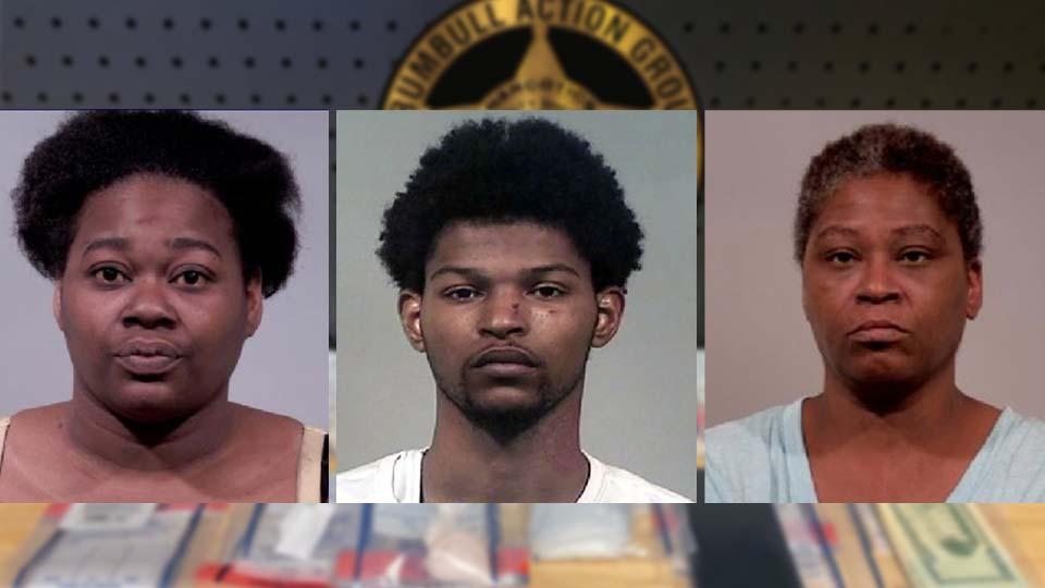 Drewkenda Smith, Jayson Cousins, Dokinda Deems - Warren Drug Bust