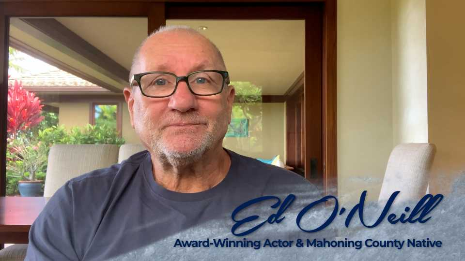 Actor and Youngstown native Ed O'Neill has partnered with Mahoning County Public Health for a public service announcement campaign.