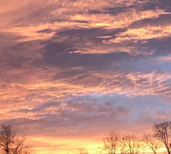 Hubbard sunset by John F.