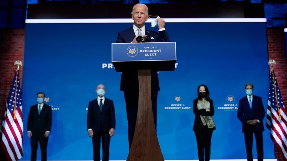 Joe Biden address