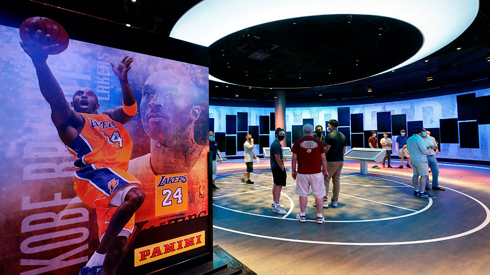 Kobe Bryant exhibit Naismith Memorial Basketball Hall of Fame
