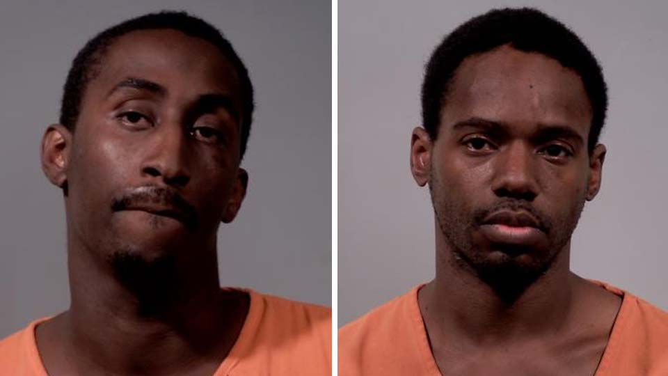 Marques White and Larry Burgess, charged with rape, kidnapping and felonious assault in Liberty