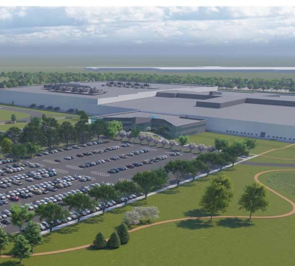 Lordstown Motors, Battery Plant Site, Rendering
