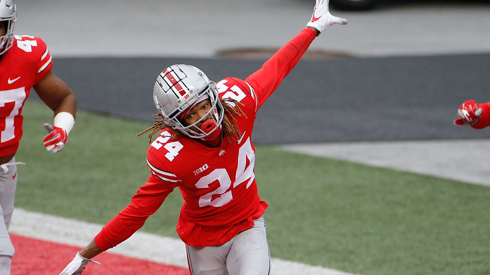 Ohio State defensive back Shaun Wade