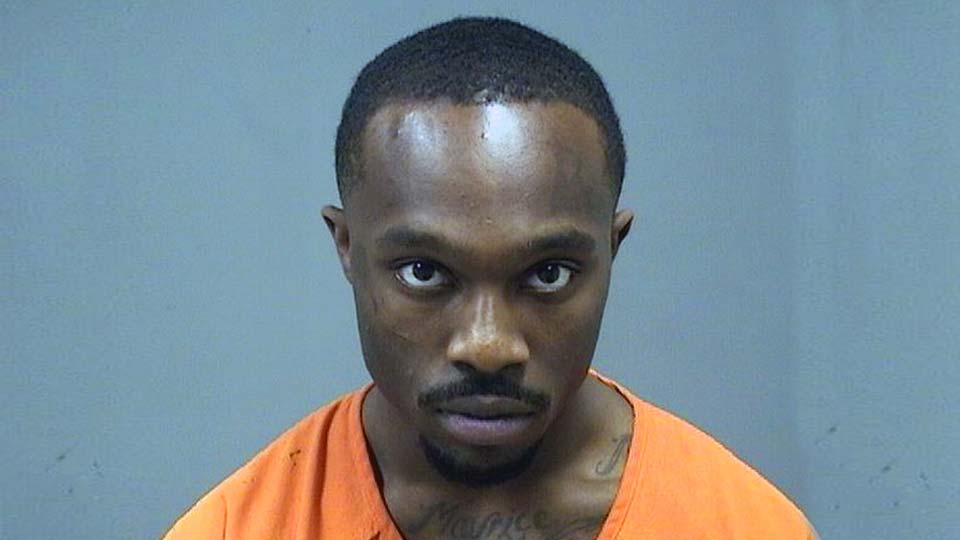Tramaine Wright, charged with failure to comply with the order or signal of a police officer, improper handling of a firearm in a motor vehicle in Youngstown.