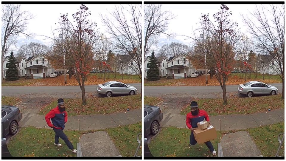 With more and more people shopping online, police are warning folks to keep an eye out for package thieves.