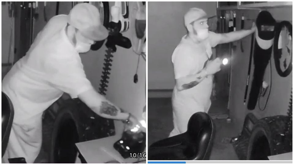 Youngstown police are asking for the public's help in identifying a breaking and entering suspect.