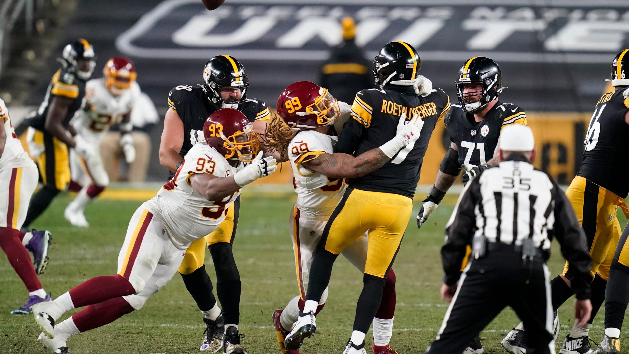 Washington Ends Steelers Perfect Run Wkbn Com