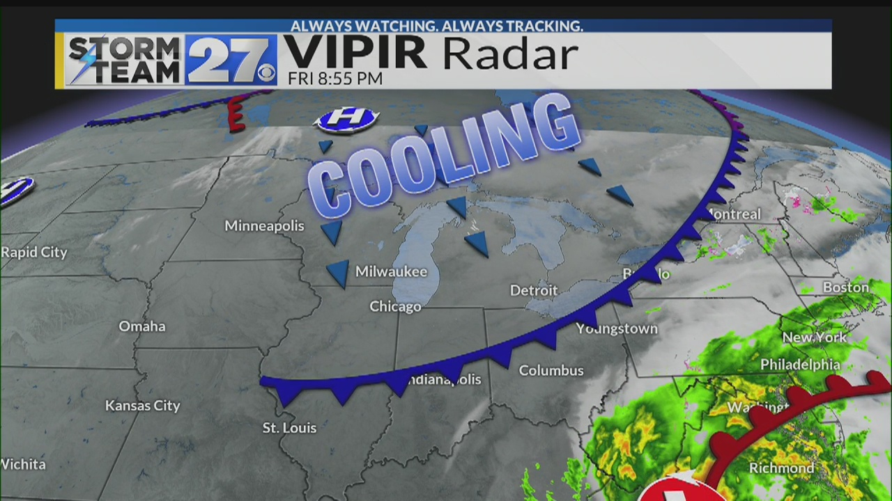Watch: Your colder weekend weather update