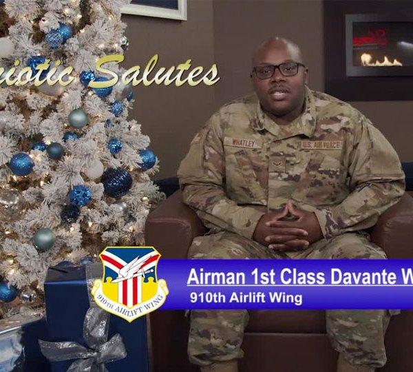 Airman 1st Class Davante Whatley