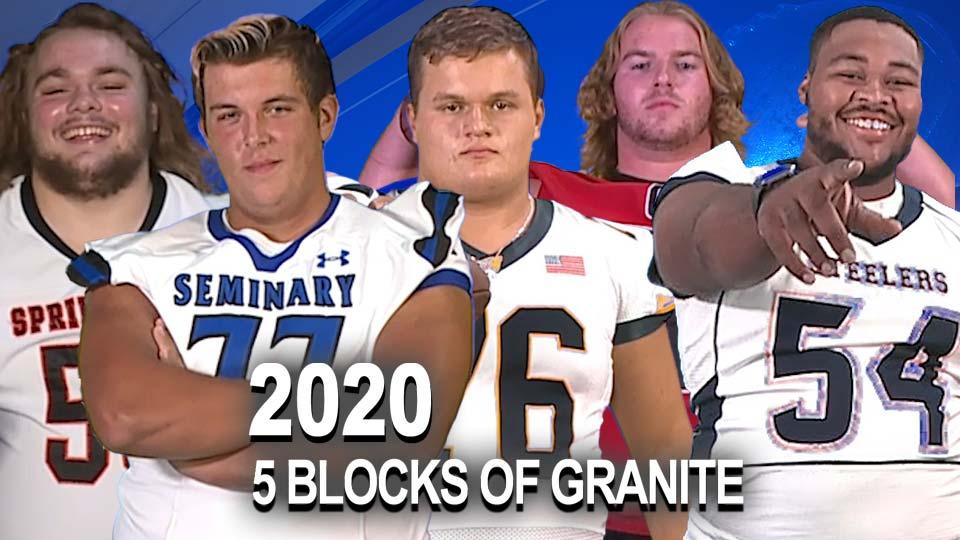 Big 22/5 Blocks of Granite 2020