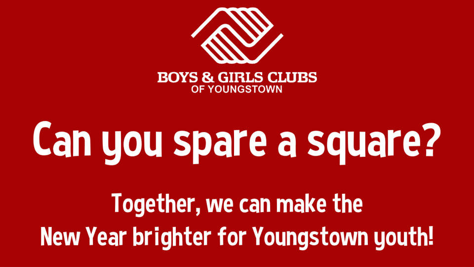 Boys and Girls Club Youngstown spare a square