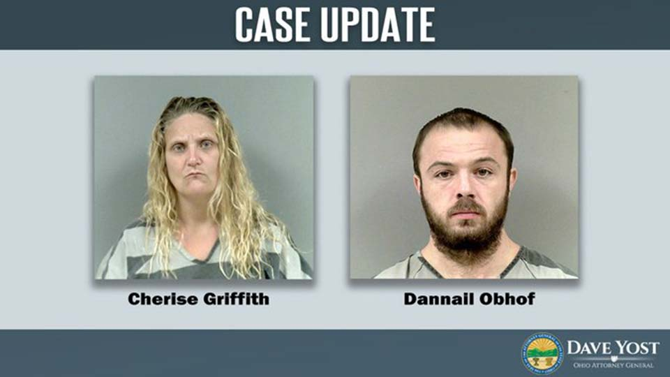Cherise Giffith and Dannail Objof among three tried on child rape charges out of Ashtabula County