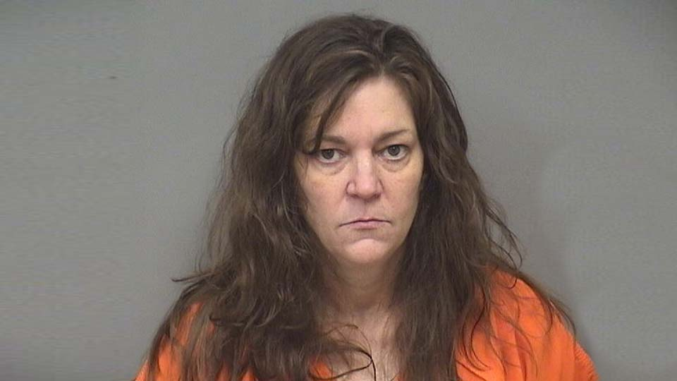 Colleen Hurst, charged with assault on a police officer in Austintown.