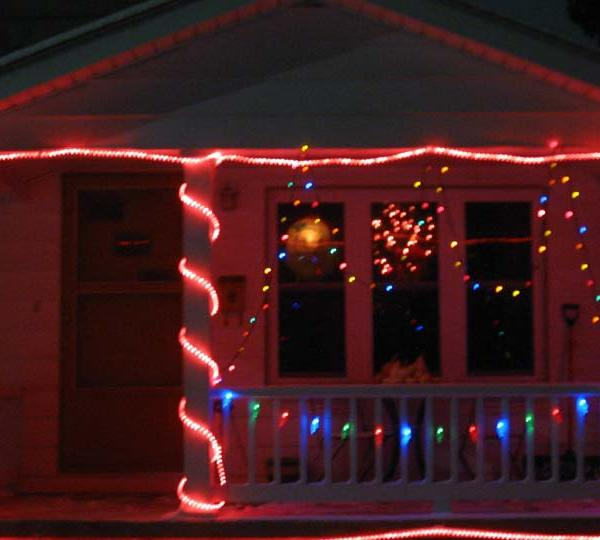 Herbster Street, Columbiana lights