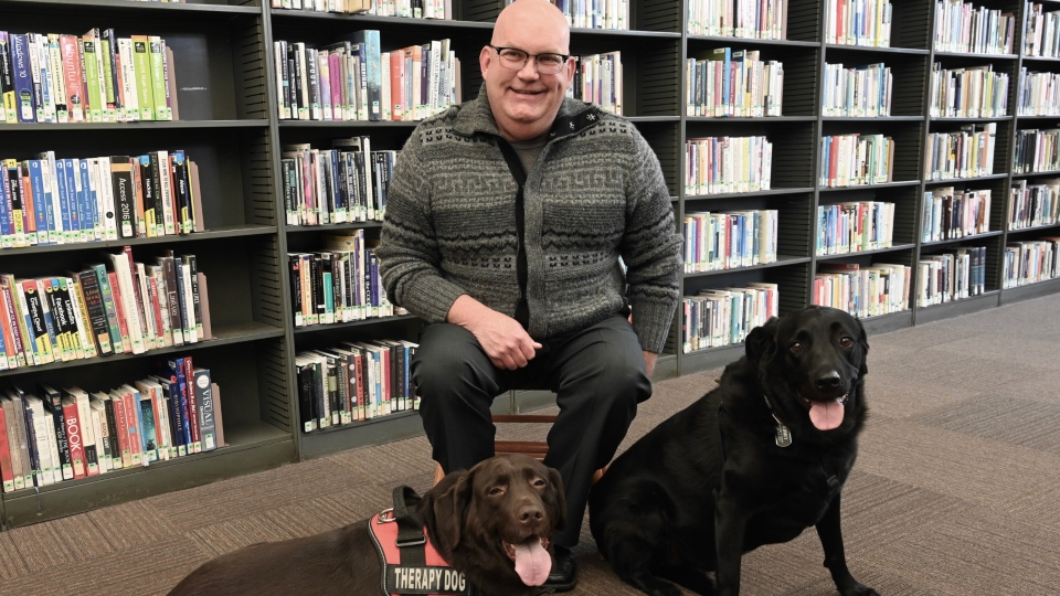 Jim Young, library community specialist, Youngstown