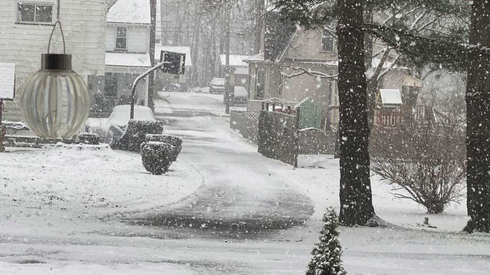 Leetonia Snowfall
