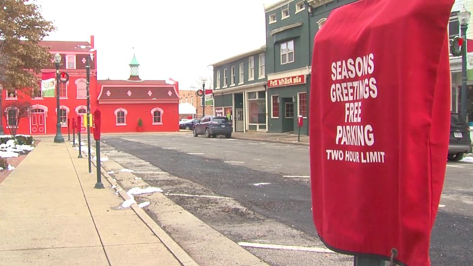 The village of Lisbon is offering free parking downtown.