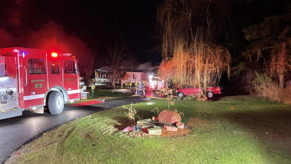 New Middletown house fire