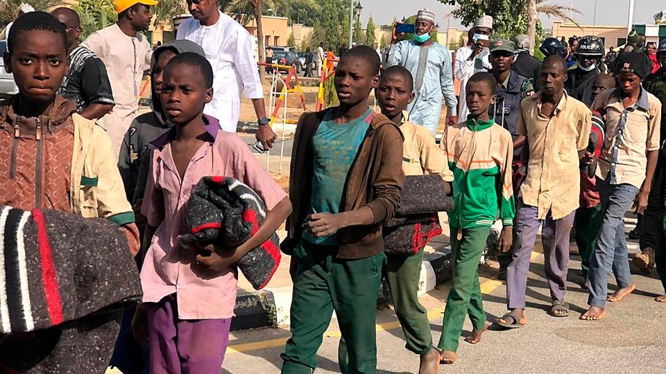 Nigerian schoolboys freed