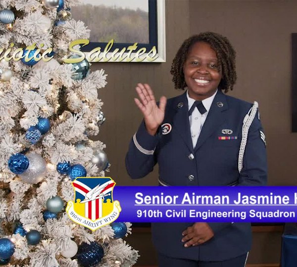 Senior Airman Jasmine Handy