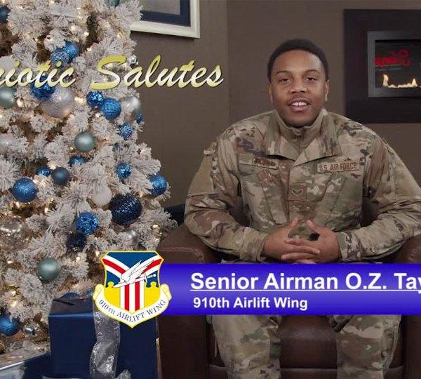 Senior Airman O.Z. Taylor