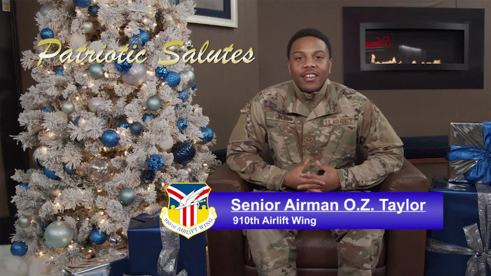 Senior Airman O.Z. Taylor