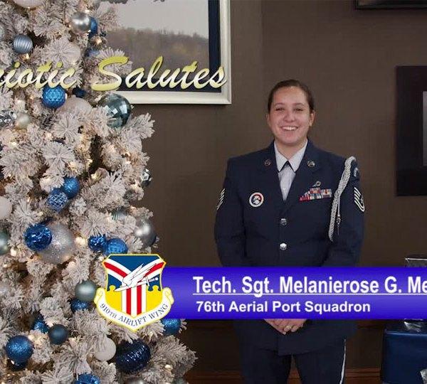 Tech. Sgt. Melanierose G. Mendoza