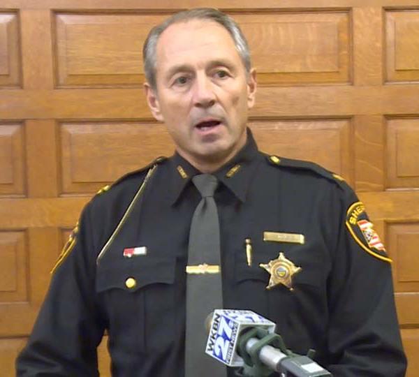 Trumbull County Sheriff Monroe swear in