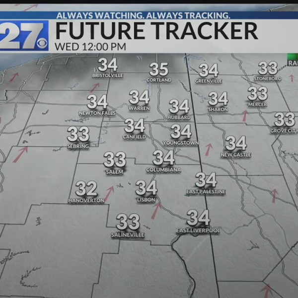 A little sunshine back in the forecast