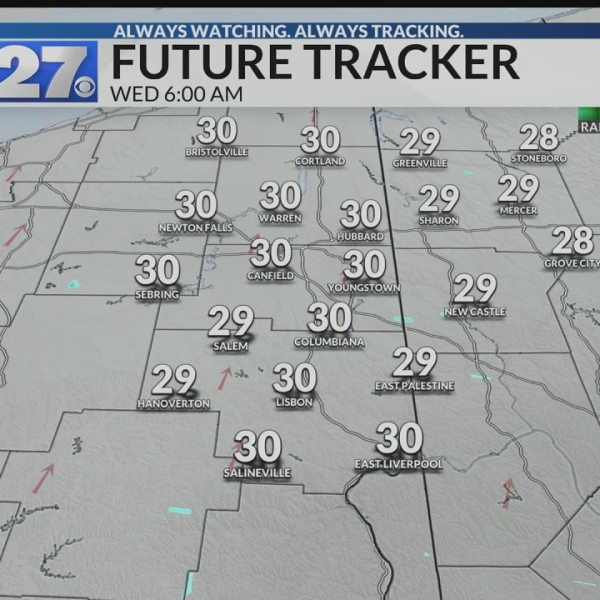 Light freezing drizzle possible into early morning