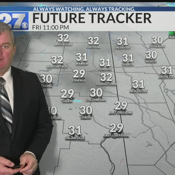 Colder with scattered snow showers this weekend
